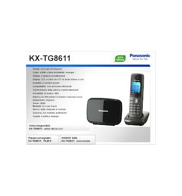 panasonic kx-tg8611