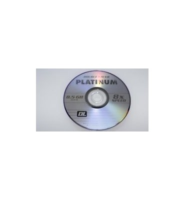 platinum dvd+r dual layer bulk