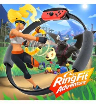 nintendo Ring Fit Adventure per switch